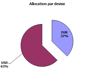 Allocation en devises du portefeuille